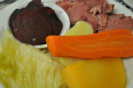 Moody's Diner: New England Boiled Dinner