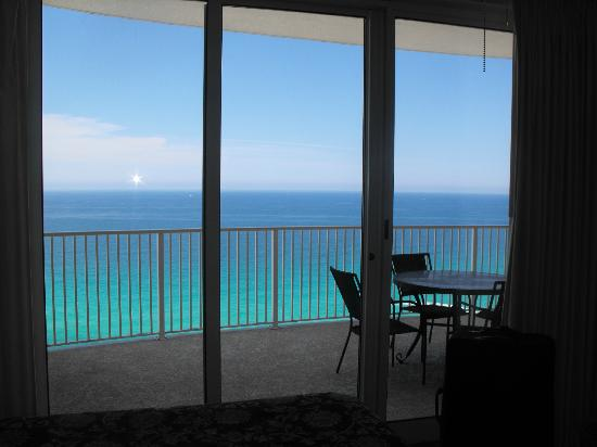 Ocean Villa Condos: View from Master Room