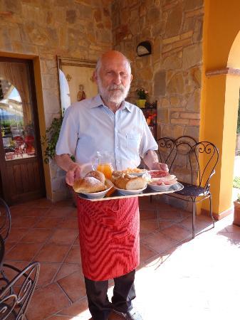 Agriturismo San Felicissimo: Lekker ontbijt