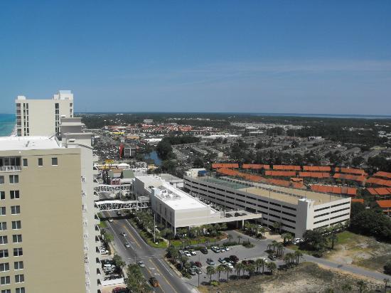 Ocean Villa Condos: View of the town