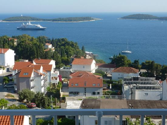 Villa Petricic: View from Room 1