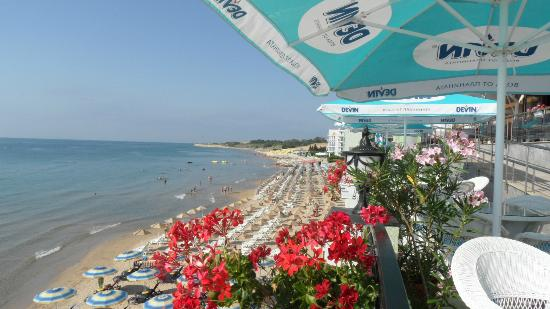 Mirage of Nessebar: View South from Dining Terrace