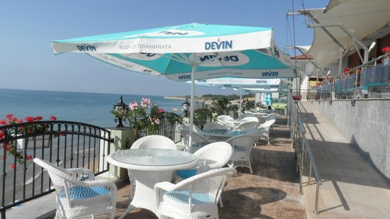 Mirage of Nessebar: Outdoor Dining Terrace