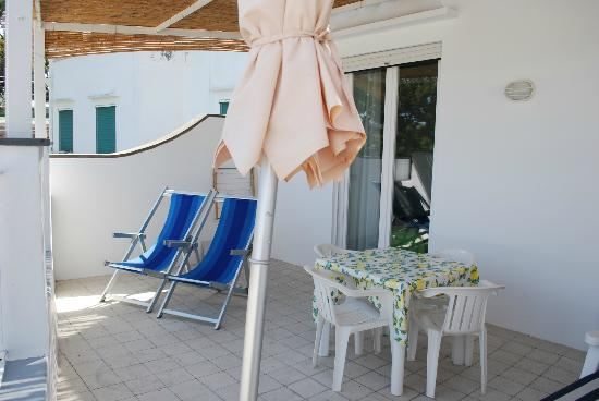 Hotel La Tosca: balcony