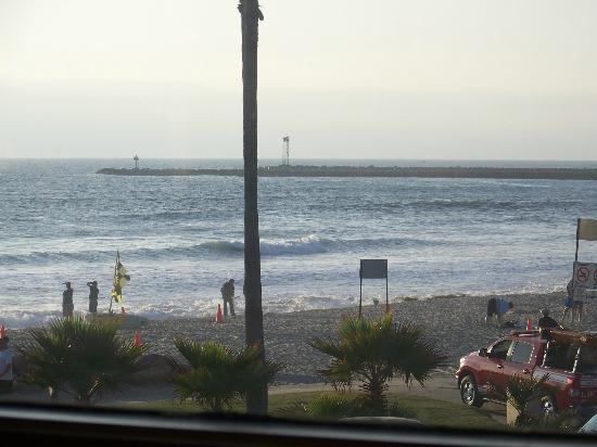 Nick's at the Pier: The view from the second floor