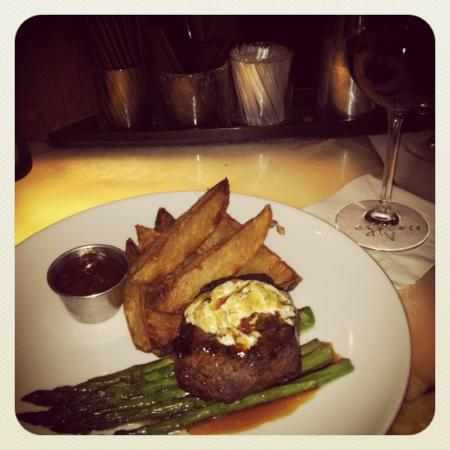 Cypress: Filet with fries ordered special.