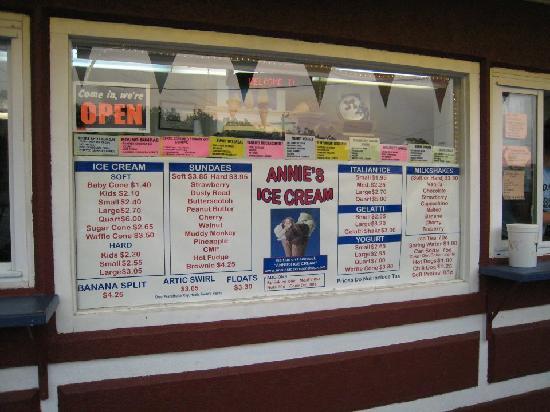 Annie's Ice Cream