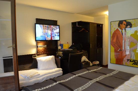 Hotel Brienzersee: التلفاز