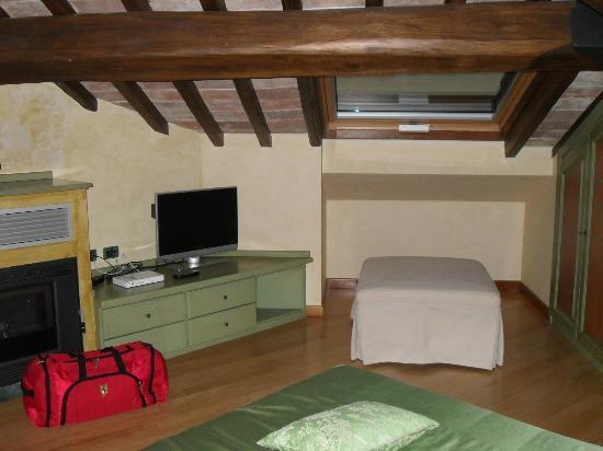 Molino del Duca Cesi: La camera