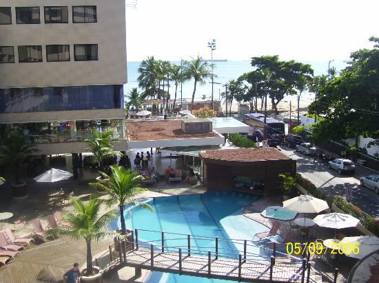Mareiro Hotel: INGRESO AL HOTEL Y PILETA