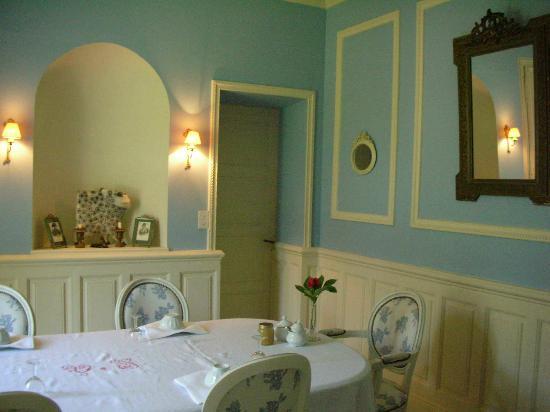 La Feriere : The breakfast room
