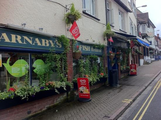 Barnabys: Stratford in bloom 2nd place 2011