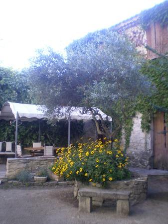 Le Jardin des Glycines : Vista sul cortile