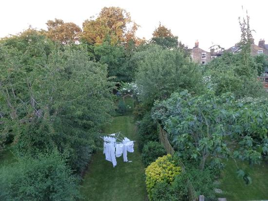 Telegraph Hill B&B: View from the rear bedroom over the gardens of Lewisham