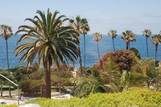 La Valencia Hotel: View from our suite
