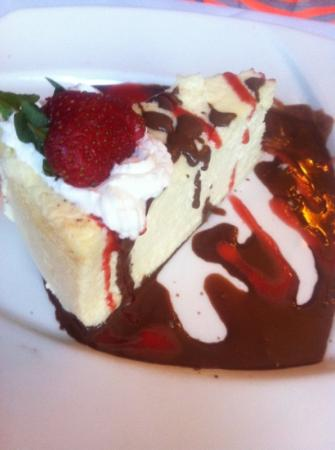 Jack's Oyster House : cheesecake