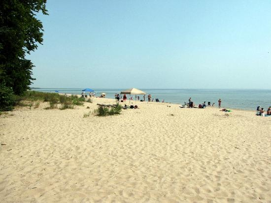Harrington Beach State Park: North Beach