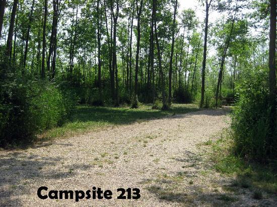Harrington Beach State Park: Campground