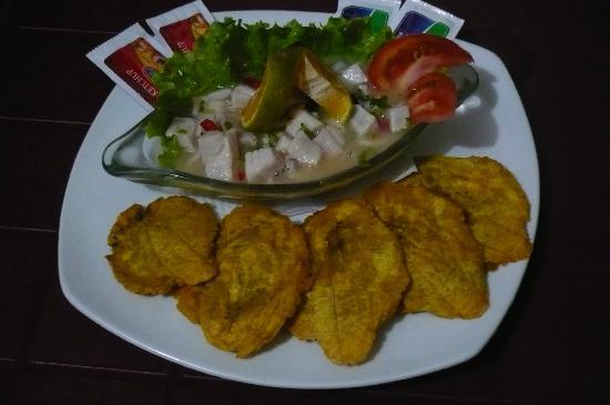 The Krusty Krab : ceviche de pescado