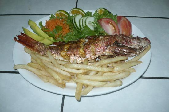 The Krusty Krab : pescado frito