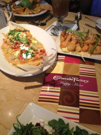 The Cheesecake Factory: all of this for only $35!!!
