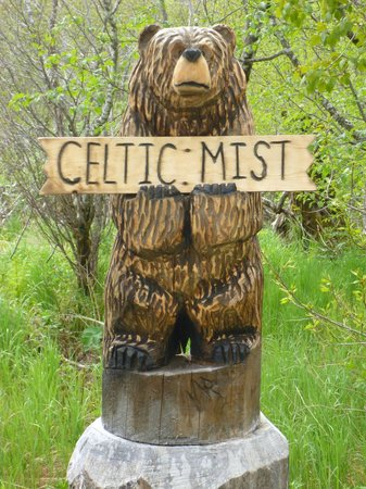 Celtic Mist B & B: Entrance