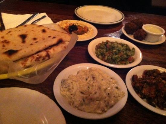 Mike's Global Grill: falafel for two