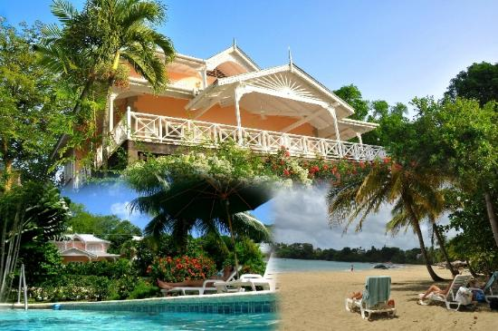 Plantation Beach Villas: Three views: The Villa; The Pool & the Beach