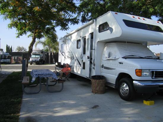 Anaheim RV Park: Space 230