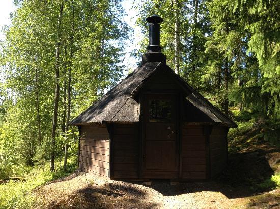 Hotel Korpilampi: Outdoor Sauna