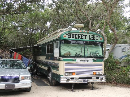 North Beach Camp Resort : Cute RV at North Beach Campground