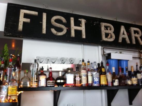 Jumpin' Jay's Fish Cafe: sitting at the bar