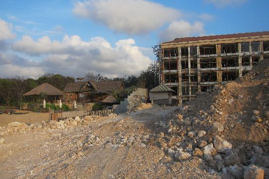 Geger Beach Nusa Dua Bali: Construction of 1,000 room hotel has ruined Geger