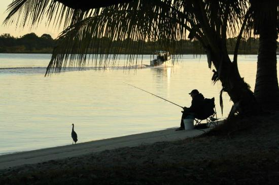 Noosa River Holiday Park : Cast a line from your site