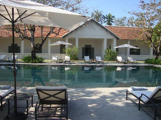 Hotel Amantaka: The swimming pool