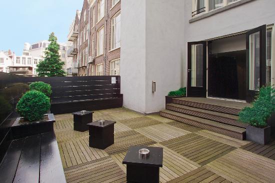 Hotel Cornelisz: Terrace
