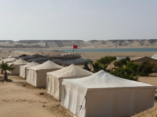 Auberge des Nomades du Sahara : VUE SUR LE LAGON