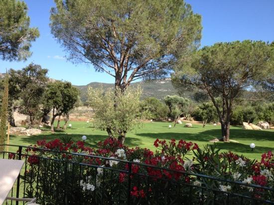 Residence Salina Bay : joli jardin