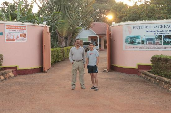 Entebbe Backpackers: the gate