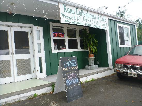 Kona Coffeehouse & Cafe at Honaunau: 外観