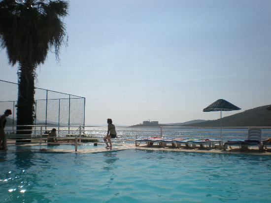 Aegean Garden: the pool