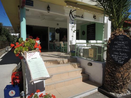 Kaaren's : Entrance