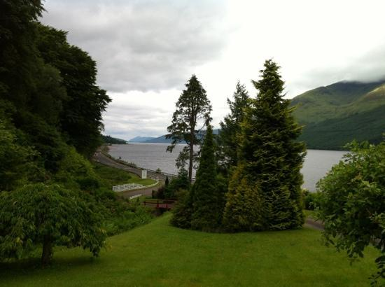 Corriegour Lodge Hotel: The view from the dining room.