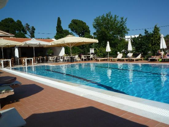 Sunset Hotel & Apartments: The pool during the day