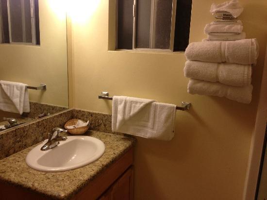 Silver Surf Motel: bathroom
