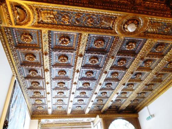 The Town House: ceiling