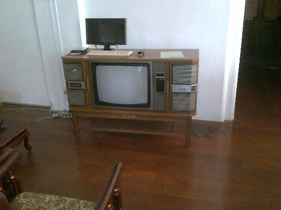 The Mansion: antique tv