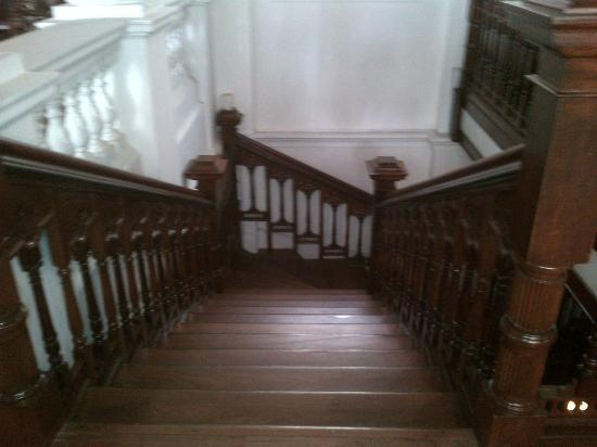 The Mansion: stairs to the room