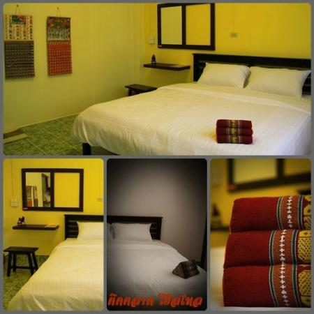 Tid Tarad Hostel Hua Hin: Private double room (shared bathroom)