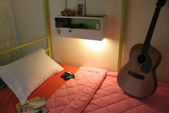 Tid Tarad Hostel Hua Hin: Female's dorm (shared bathroom)
